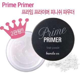 韓國banila co Prime Primer控油細緻蜜粉