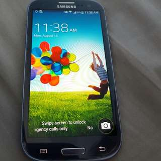 Samsung S3 in excellent condition
