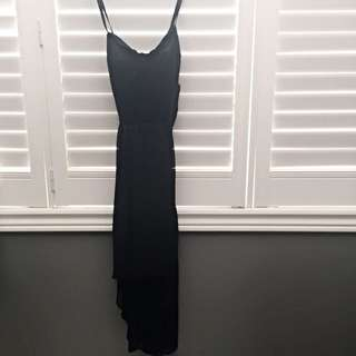Hi-lo Style Black Dress (M by Mendocino)