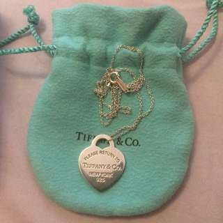 Tiffany Pendant and Chain