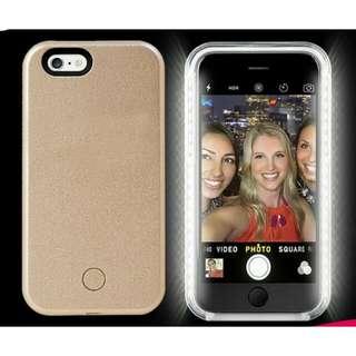LED SELFIE LUMEE ALIKE MOBILE PHONE CASE. IPHONE 6S, 6SPLUS, SAMSUNG S6 AND S7