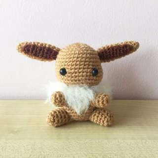Pokémon - Eevee (with desired name tag or short message tag)