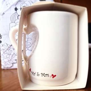 BNIB Cute Piccolo Cup With ❤️Heart Handle