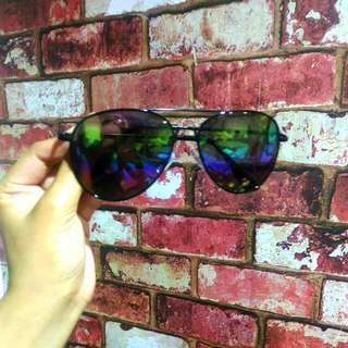 *reserved*Betsy Johnson Rainbow Reflective Sunnies