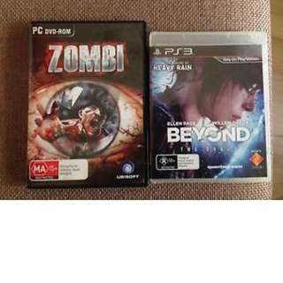Games ( Zombi And Beyond Two Souls)