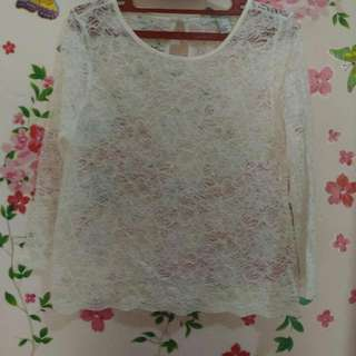 Lace Outer Forever 21