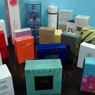 US AUTHENTIC TESTER PERFUMES