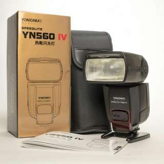 Yongnuo  YN 560IV Speedlite Flash