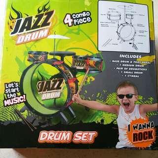Jazz Drum Set - 4 Combo Piece