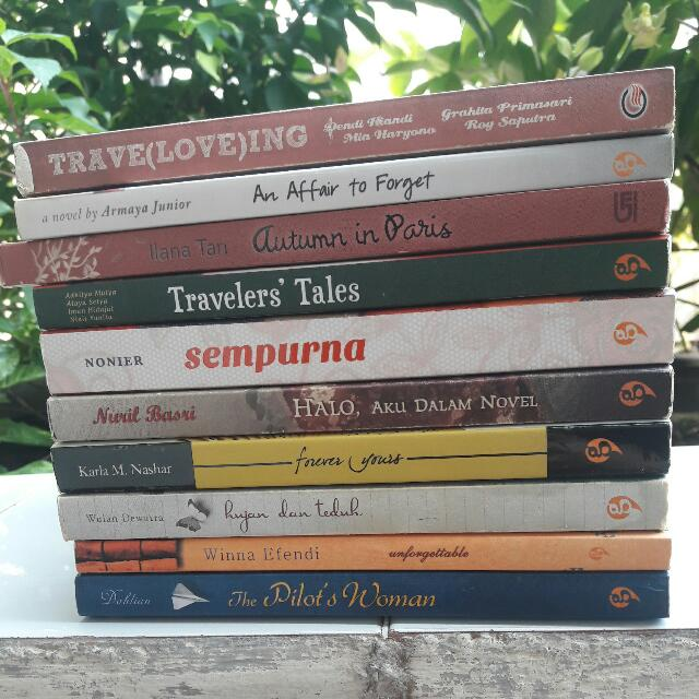 10 Novel Indonesia