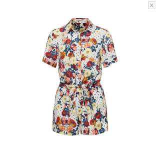 WTB THURLEY BLOOM PLAYSUIT | SIZE 6