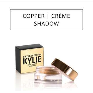 Kylie Birthday Edition Copper Creme Shadow-Authentic!