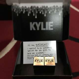 Kylie Birthday Edition Rose Gold Creme Shadow- Authentic!
