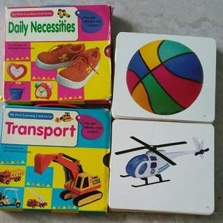 My First Learning Card Series ( Daily Necessities And Transport)