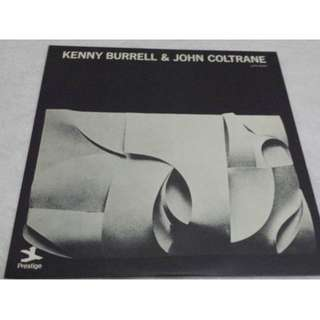 Kenny Burrell & John Coltrane, Kenny Burrell & John Coltrane, Japan Press Vinyl LP,  Prestige ‎– LPR-8856, no OBI