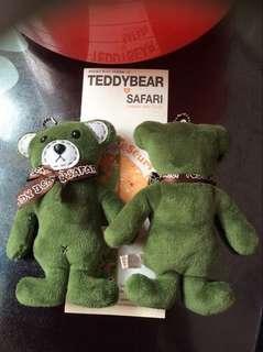 韓國正品 泰迪熊博物館 小熊掛件高18cm  44462876358