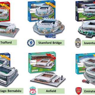 3D Football Stadium Puzzle (Merdeka Offer)
