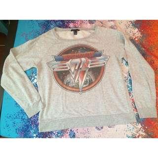 Forever 21 Van Halen Pull Over