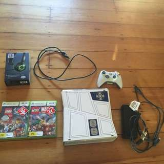 Xbox 360 With Lego Games