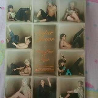 Super Junior Sexy Free and Single Version B.