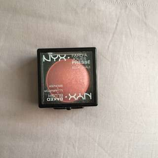 NYX Baked Blush In FOREPLAY