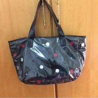 (含運+降價)agnes b 側背包包