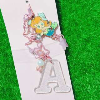 東京迪士尼嬰兒小美人魚鑰匙圈