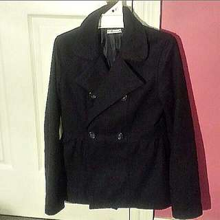 Navy Blue Jacket Size 8