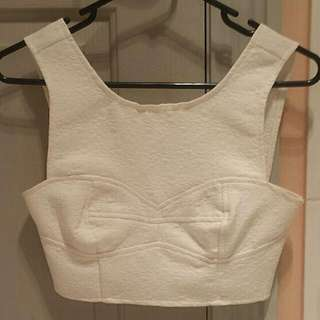 Alice in the Eve Crop Top Size 6
