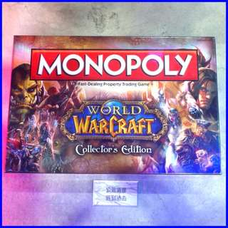 「World of Warcraft Blizzard Monopoly 魔獸世界 大富翁組 @公雞漢堡」