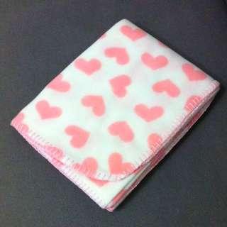 全新🆕粉紅甜心 午睡毯