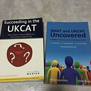 UKCAT And BMAT Guide Books