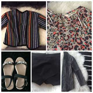 Skort, Denim Jacket, Blouse & Etc