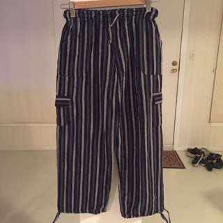 Stripy Hippy Pants