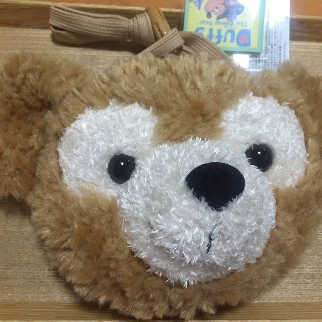 現貨  海洋迪士尼~達菲熊零錢包