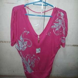Papaya Pink Blouse