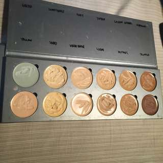 Lime Lily Cosmetics Cream Foundation Palette