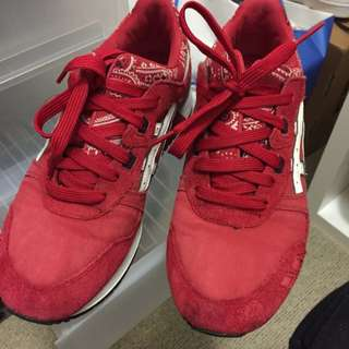 Asics Gel Lyte 3 Blood Red Size 10