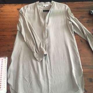 Aritzia Babaton Silk Tunic Brand New