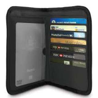 SALE!!! PACSAFE RFID-blocking compact organizer wallet