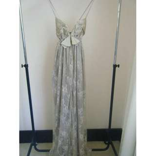 Anna Campbell lace gown - one size
