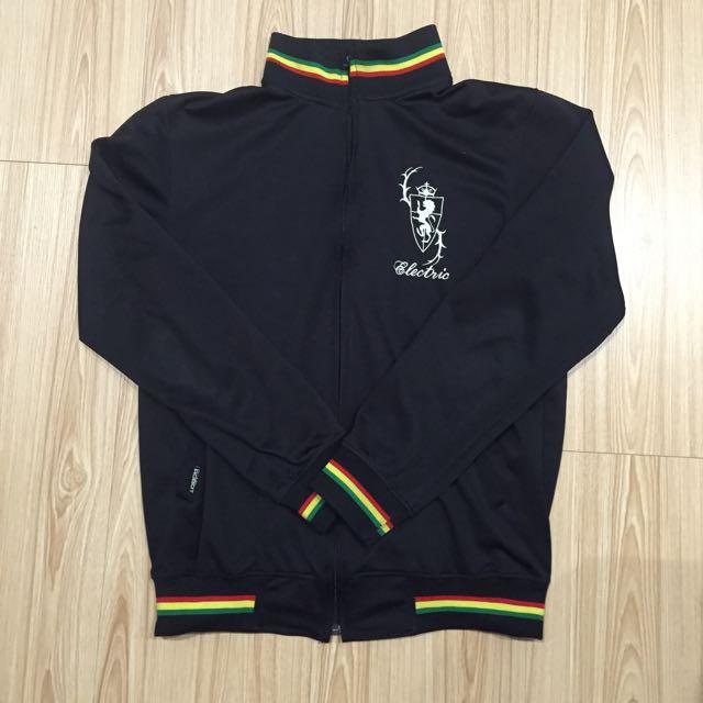 黑色彩虹滾邊薄外套