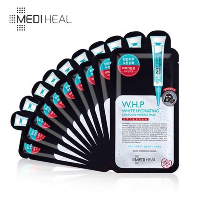 ❤️限時特賣下殺🇰🇷 韓國 可萊絲 美迪惠爾 mediheal WHP 針劑面膜 安瓶 美白 補水 竹炭 黑面膜