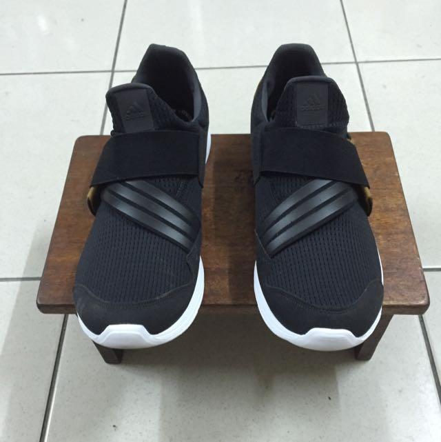 Adidas Lite Slipon 黑金 卡其忍者鞋