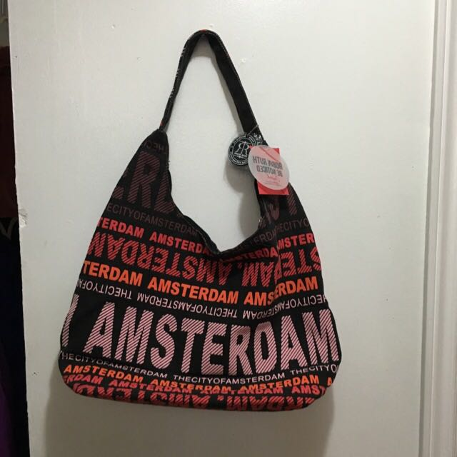 Amsterdam Tote Bag With Tags