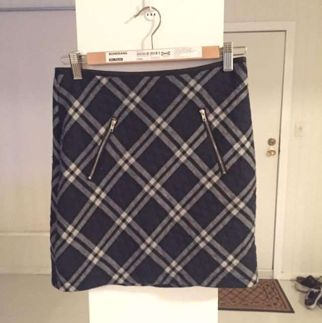 Asos Plaid Skirt