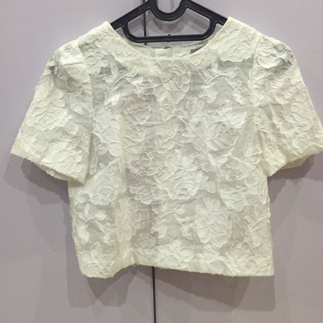 Atasan Motif Lace H&M (Authentic)