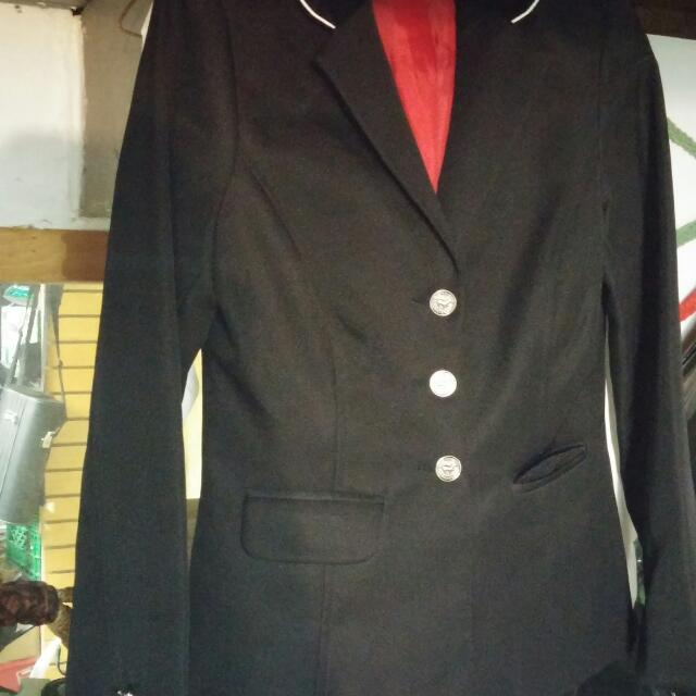 Black Dressage Showing Jacket Sm