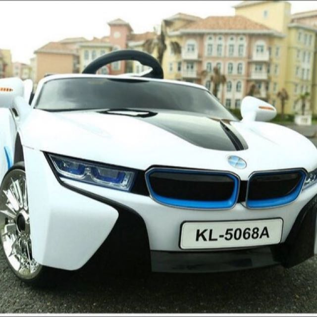 Bmw I8 Battery Operated Electric Car For Toddlers Kids Baby