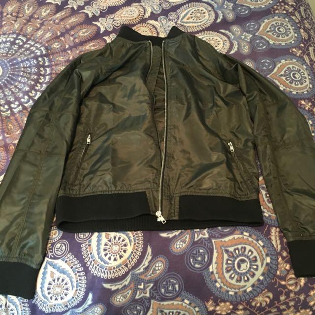 Bomber Jacket (Khaki)